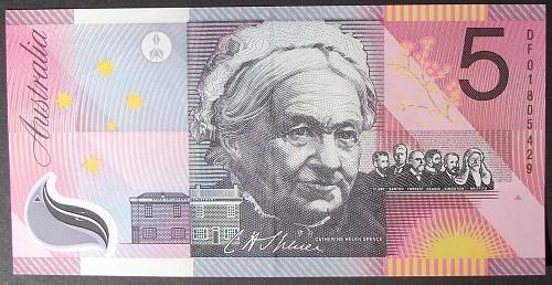 Australia P56 5 Dollars XF+