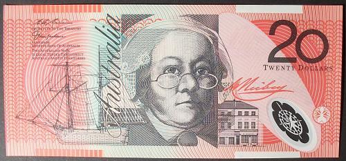 Australia P53b 20 Dollara UNC65