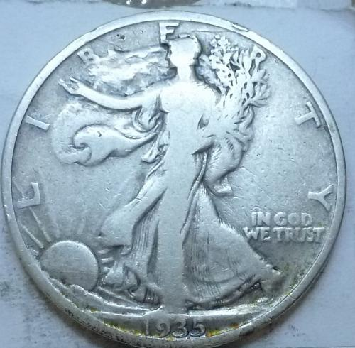 1935-P Fine Walking Liberty Half Dollar  ( 335 )
