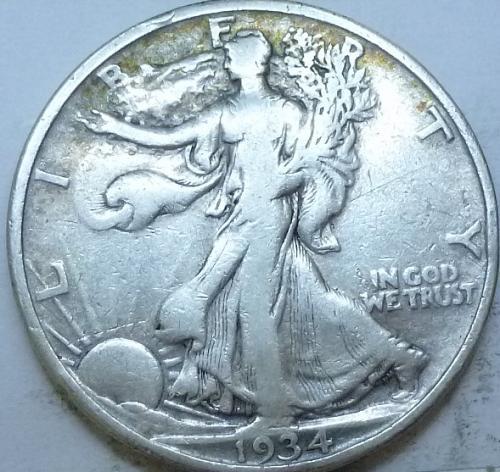 1934-P Very Fine Walking Liberty Half Dollar  ( 332 )