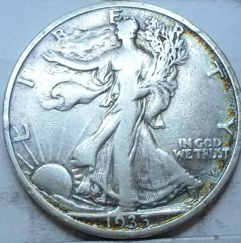1935-S Very Fine Walking Liberty Half Dollar  ( 337 )