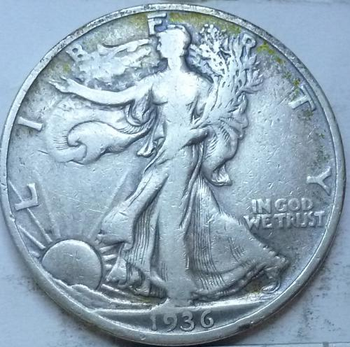 1936-D Very Fine Walking Liberty Half Dollar  ( 339 )