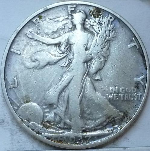 1937-S Very Fine Walking Liberty Half Dollar  ( 343 )