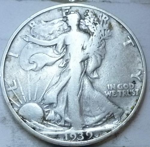 1939-S Very Fine Walking Liberty Half Dollar  ( 347 )