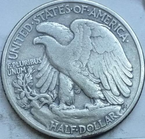 1936-P Extra Fine Walking Liberty Half Dollar  ( 338 )