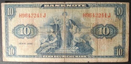 Germany/Federal Republic P5a 10 Deutschemark VG