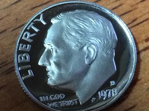 1978 S Roosevelt Dime Clad Proof #3