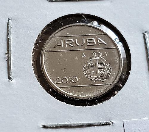 2010 - Aruba - 5 Cents - KM #1 - 0087