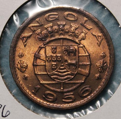 Angola 1956 1 Escudo