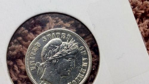 1913 P Barber Dime Great looking details, remarkable reverse