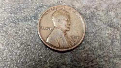 1915 D Lincoln Wheat Cent nice