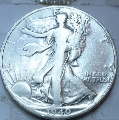 1940-S Fine Walking Liberty Half Dollar  ( 407 )