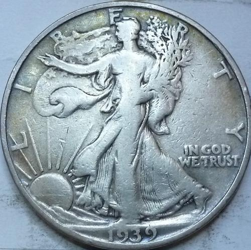 1939-S Very Fine Walking Liberty Half Dollar  ( 402 )