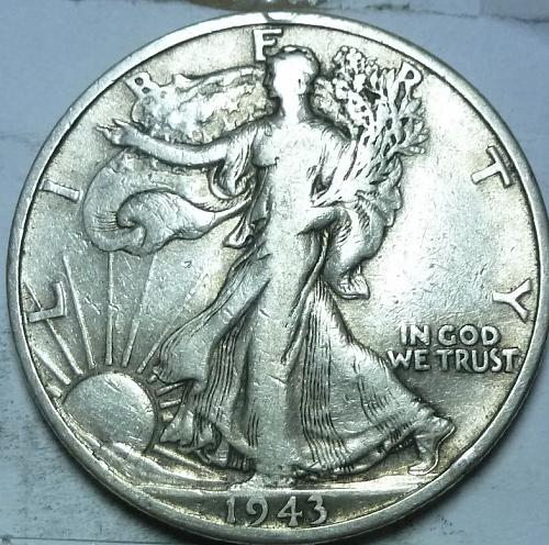 1943-D Very Fine Walking Liberty Half Dollar  ( 415 )