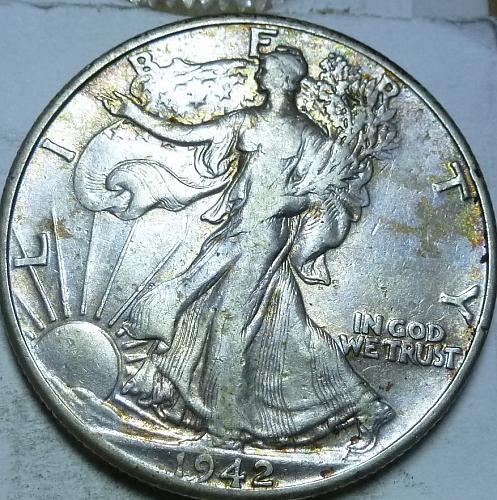 1942-P Extra Fine Walking Liberty Half Dollar  ( 436 )