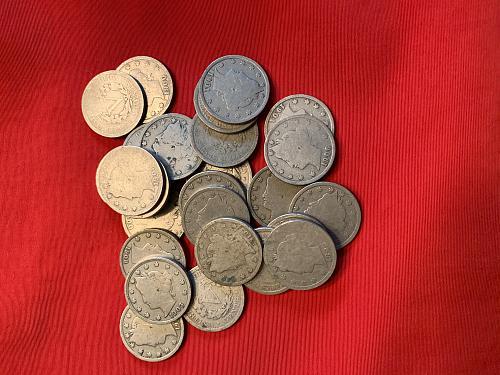 1 Lot of 50 Liberty V Nickels -Various Dates