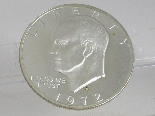 1972 S Eisenhower Dollar #2