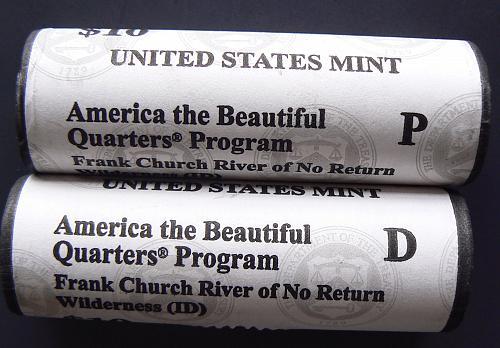 2019 D Frank Church River of No Return Quarter