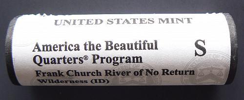 2019 S Frank Church River of No Return Quarter