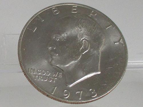 1973 P Eisenhower Dollar