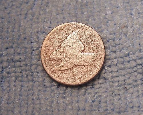 1958 Flying Eagle cent