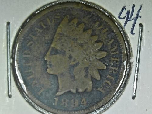 1894 P Indian Head Cent