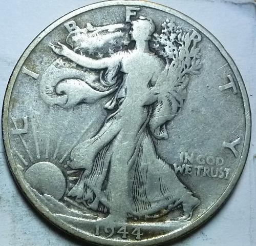 1944-S Fine Walking Liberty Half Dollar  ( 416 )