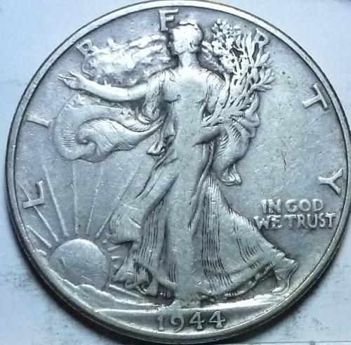 1944-P Very Fine Walking Liberty Half Dollar  ( 433 )