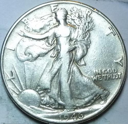 1946-P Very Fine Walking Liberty Half Dollar  ( 421 )