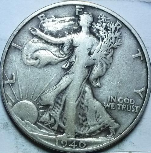 1944-S Very Fine Walking Liberty Half Dollar  ( 447 )