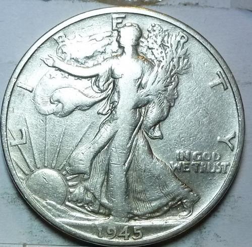1945-S Very Fine Walking Liberty Half Dollar  ( 430 )