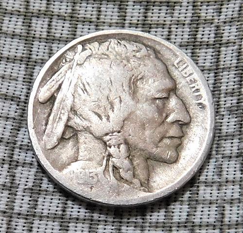 1913 P Type 2 Buffalo/Indian Head Nickel #2