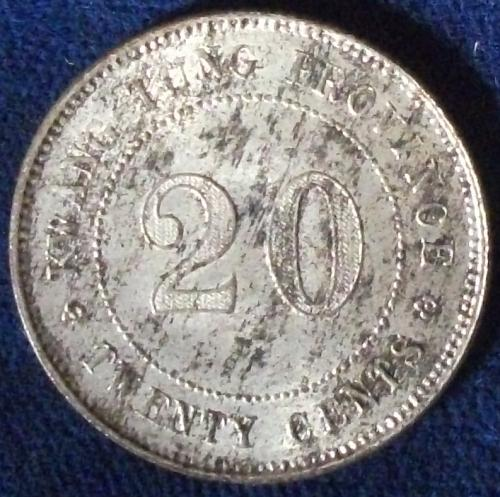 Year10 (1921) China/Kwangtung 20 Cents AU