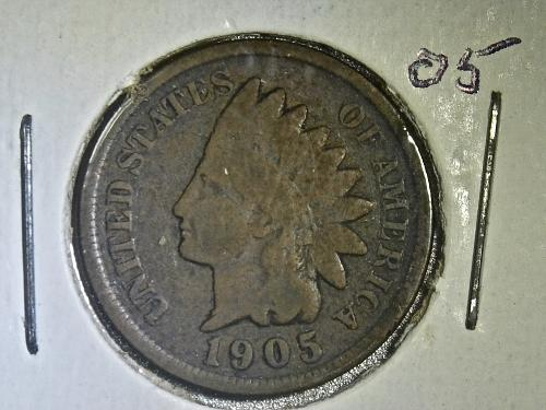 1905 P Indian Head Cent #2