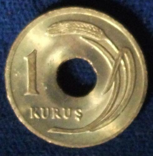 1949 Turkey Kurus BU