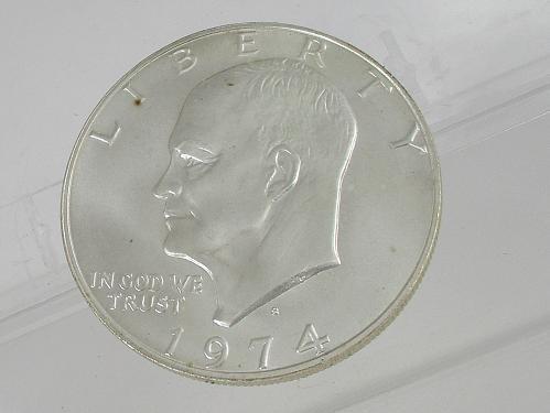1974 S Eisenhower Dollar: Silver 40%   #2