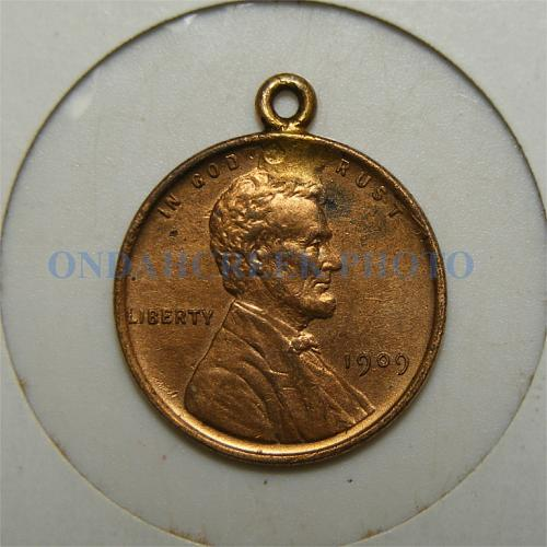 1909 VDB Lincoln Cent Pendant