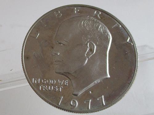 1977 S Eisenhower Dollar