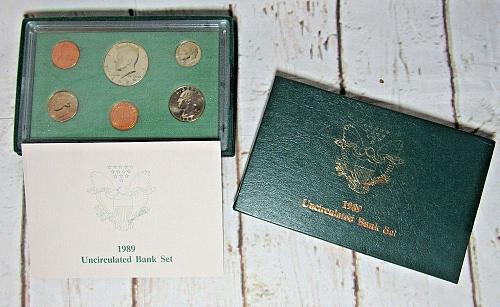 1989 D UNCIRCULATED BANK MINT SET
