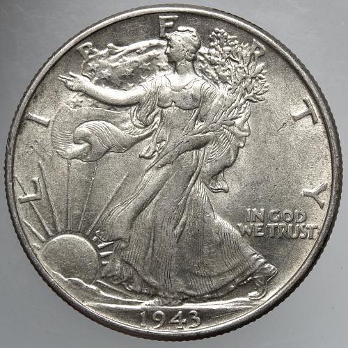 1943 P Walking Liberty Half Dollar #15