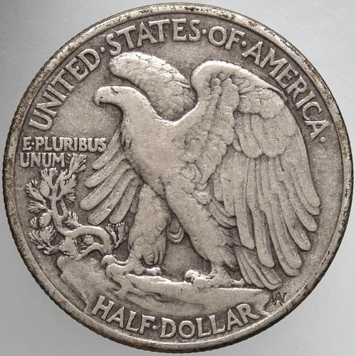 1947 P Walking Liberty Half Dollar #4