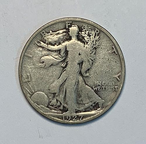 1927-S Walking Liberty Half Dollar VG [WL 111]