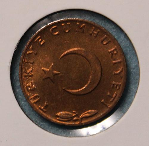 Turkey 1959 5 kurus