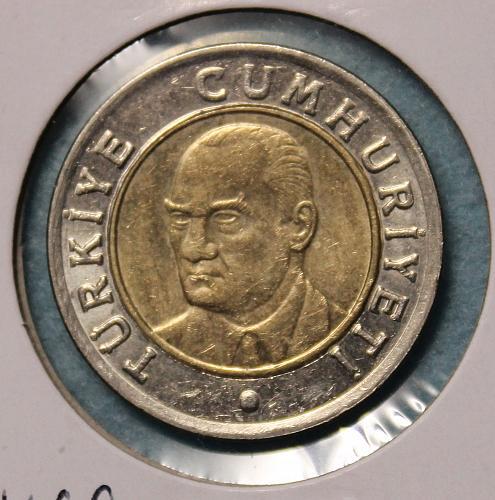 Turkey 2005 1 Lira