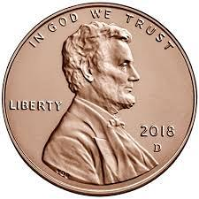 2018 D Lincoln Shield Cent