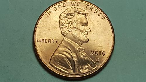 2019 D Lincoln Shield Cent