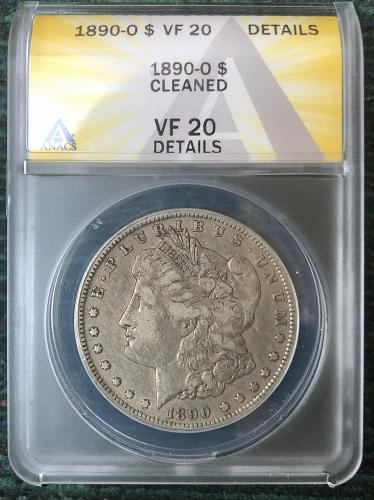 For sale a 1890 New Orleans Morgan silver Dollar