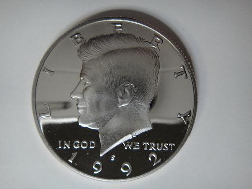 1992-S Clad Kennedy Half Dollar Proof-65 (GEM)
