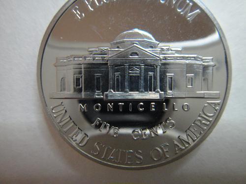 2001-S Jefferson Nickel Proof-65 (GEM) Full Steps=6 SHARP STRIKE!