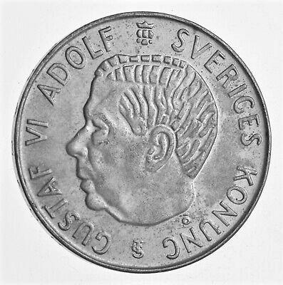 1955 SWEDEN SILVER 5 KRONOR